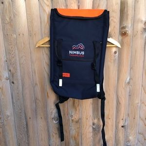 Timbuk2  long flat backpack Black/navy